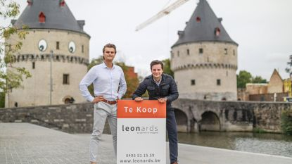 """""""We maken een droom waar"""": Jeugdvrienden starten eigen immokantoor Leonards Immobiliën"""