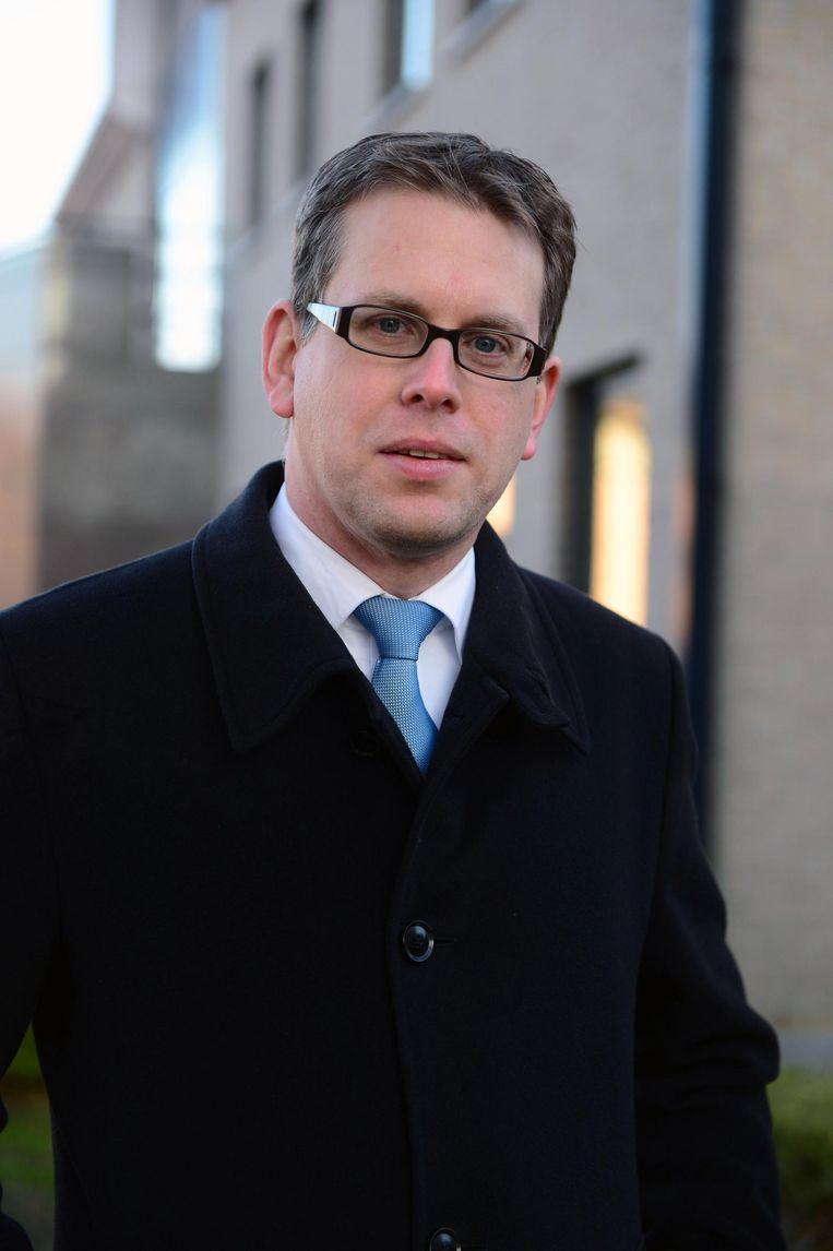 Voormalig burgemeester Alexander Binon