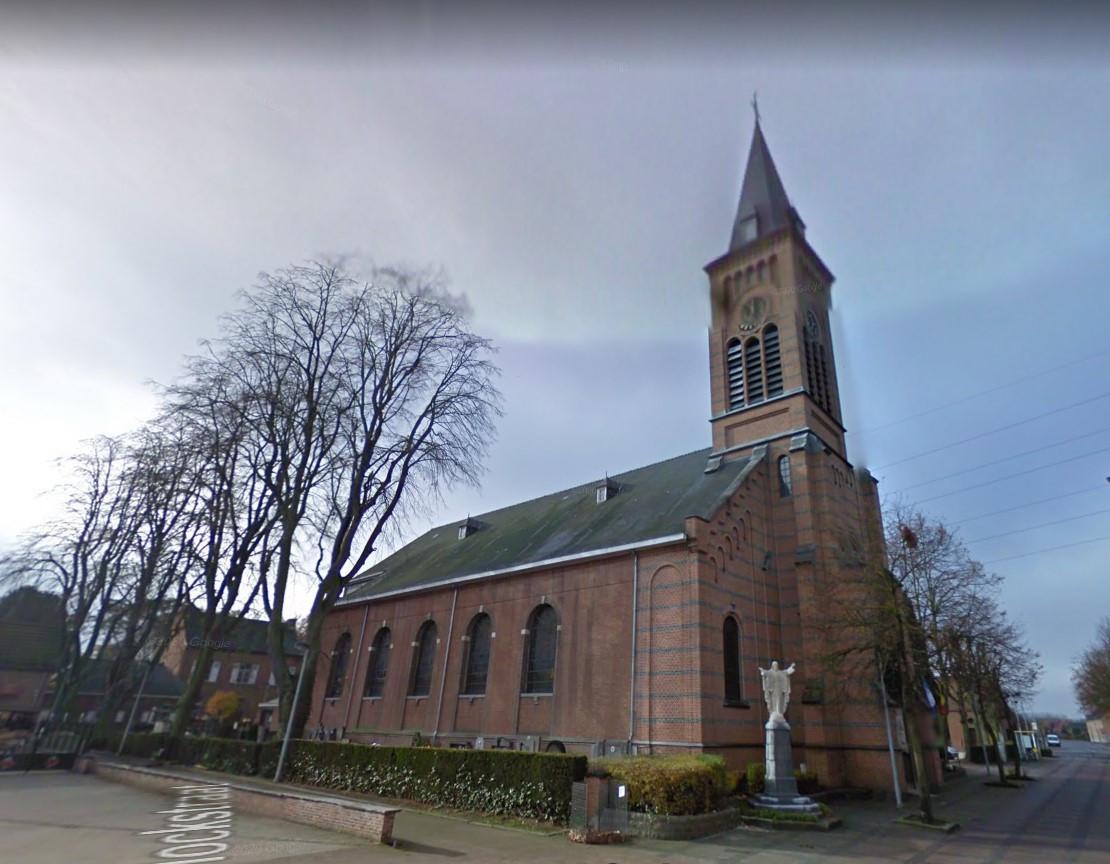 De Sint-Margarethakerk in Wintam (Bornem)