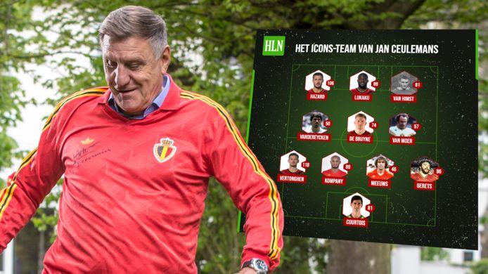 Jan Ceulemans en zijn Icons-team.