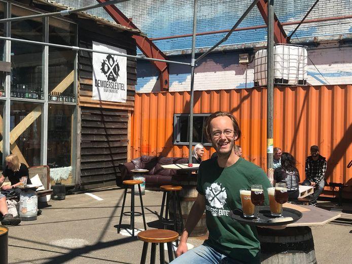 Rick Ooms van bierbrouwerij De Moersleutel.