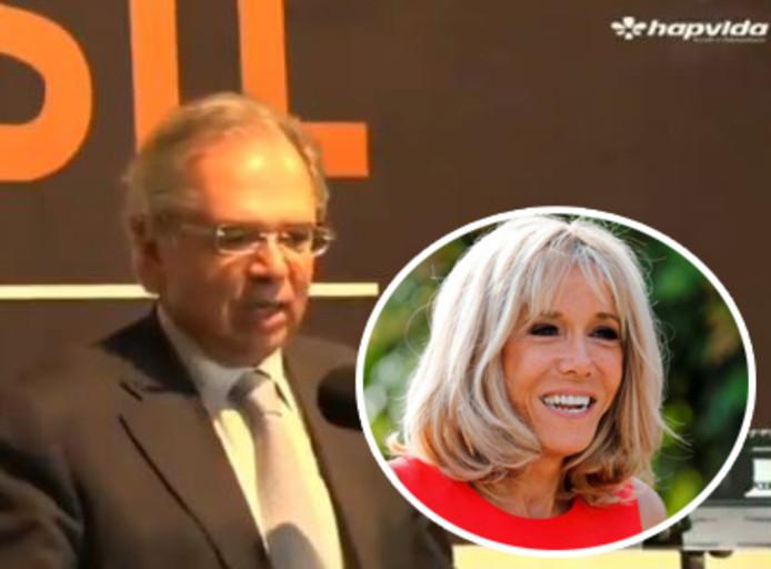 Paulo Guedes virulent à l'encontre de Brigitte Macron