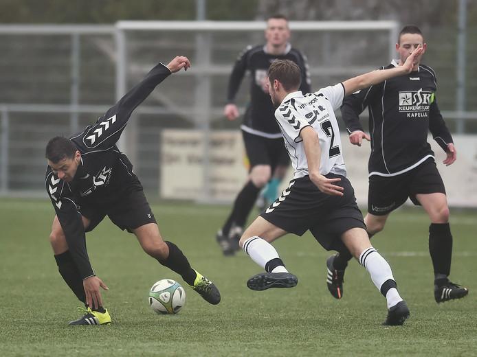 VCK (wit shirt) heeft het dit seizoen goed voor elkaar.