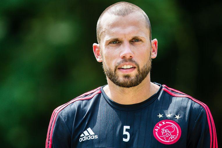 John Heitinga tijdens de eerste training van Ajax van het nieuw seizoen Beeld anp