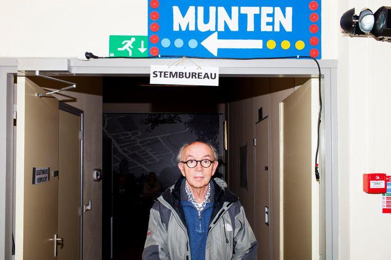 Ben Gosens (73) in Buurthuis de Elsenhof. Beeld null