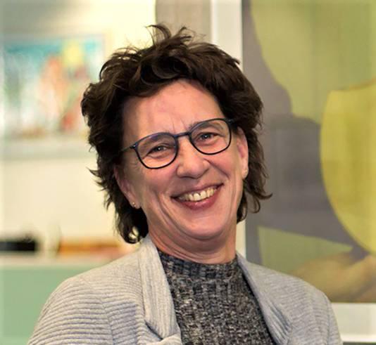 Anneke van Zanen-Nieberg op archiefbeeld.