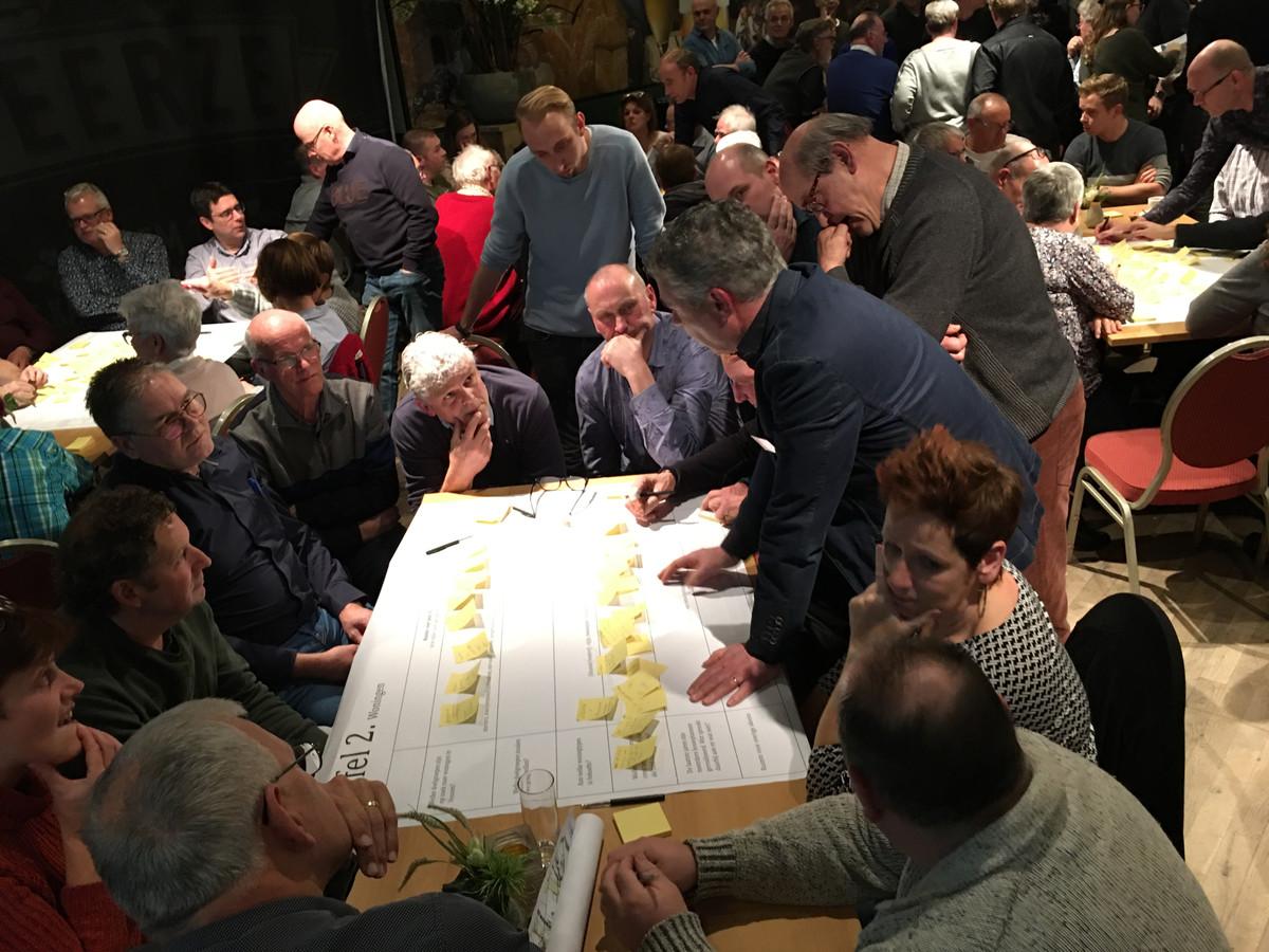 Thematafel in Vessem over woningbouw.