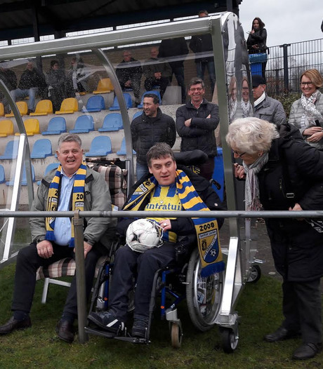 Speciale dug-out voor Darjan in Lochem