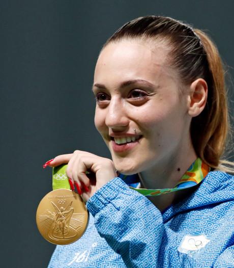 Anna Korakaki opent olympische fakkelestafette