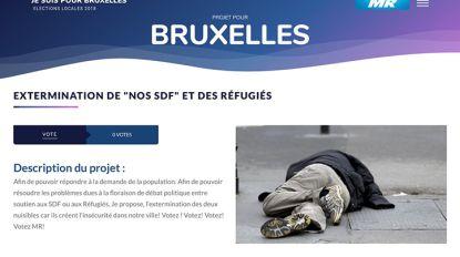 Website MR roept op tot 'verdelging van daklozen en vluchtelingen'