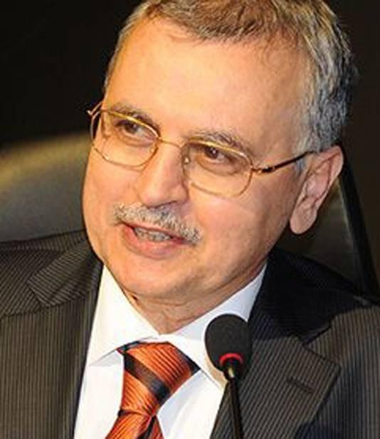 Rector Ahmet Akgündüz.