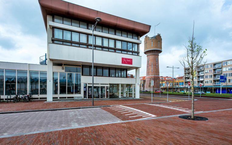 Het voormalige postkantoor waar Scholten zijn museum heeft gevestigd. Beeld Raymond Rutting / de Volkskrant
