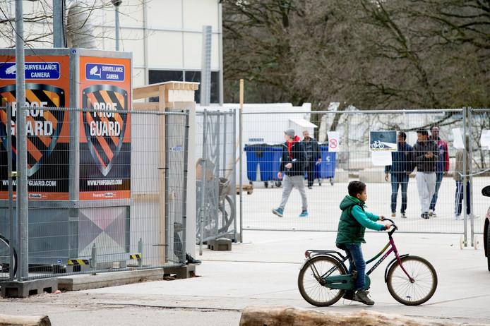 Archieffoto: Syrische vluchtelingen in een asielzoekerscentrum in Nederland.