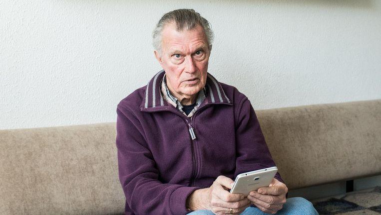 Harry Witteveen (77) Beeld Simon Lenskens