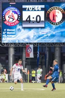 Gaat Feyenoord het nog redden tegen Trencín?