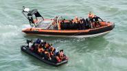 Vierentwintig migranten opgepakt tijdens oversteek Kanaal