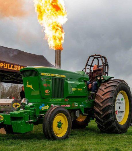 Tractorpull-team Simply Green voor zevende keer op rij nationaal kampioen