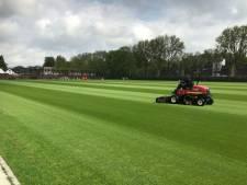 Toekomstig trainingsveld Feyenoord ligt er nu al als biljartlaken bij