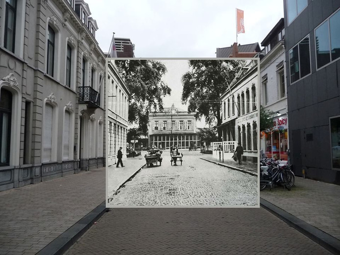 Station. Foto Rob van Amsterdam, inzet Regionaal Archief Tilburg