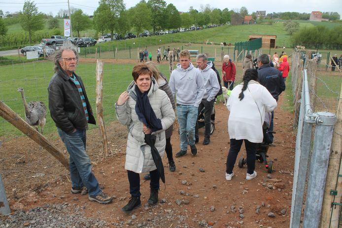 Honderden mensen namen een kijkje op de nieuwe thuisbasis van de Ark van Pollare.
