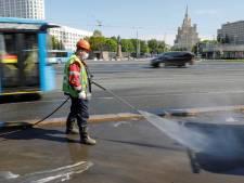 Près de 10.000 nouveaux cas en 24 heures en Russie