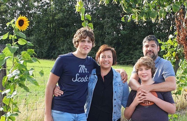 Het gezin Bouwen-Van Hove