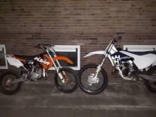 Twee gestolen crossmotoren teruggevonden in Vlissingen