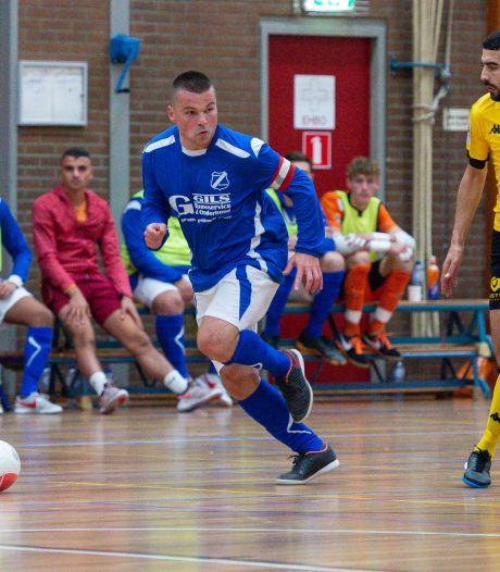 Nieuwe realiteit is hard voor de zaalvoetballers van AGOVV