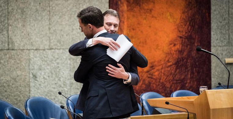 Halbe Zijlstra bij de bekendmaking van zijn aftreden. Beeld anp