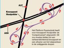 Aanpak Hooipolder: veel meer kilometers rijden vanuit Raamsdonk