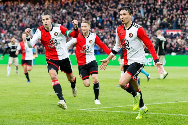 6-2! Ajax krijgt rammel van Feyenoord, De Kuip danst als ...
