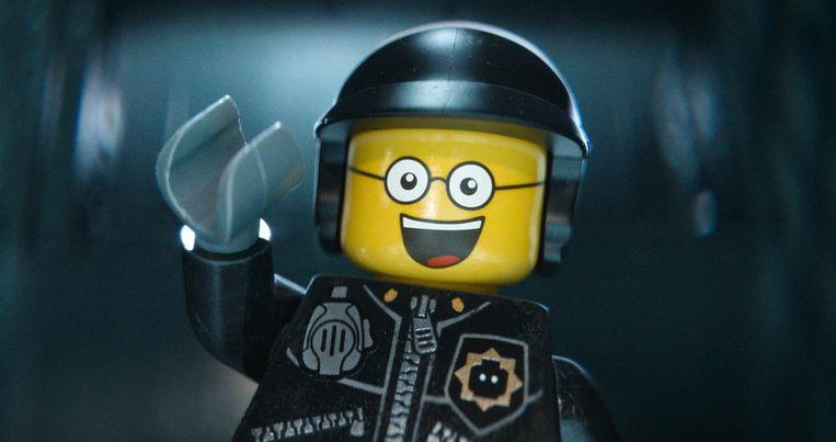 Bad Cop/Good Cop uit The Lego Movie, wiens stem in de originele versie wordt vertolkt door Liam Neeson. Beeld ap