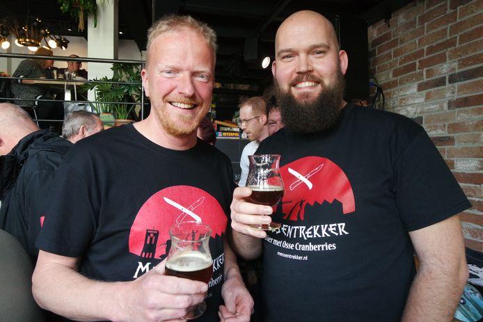 Martin Ostendorf (links) en Roy Thijssen, bedenkers van de Messentrekker.
