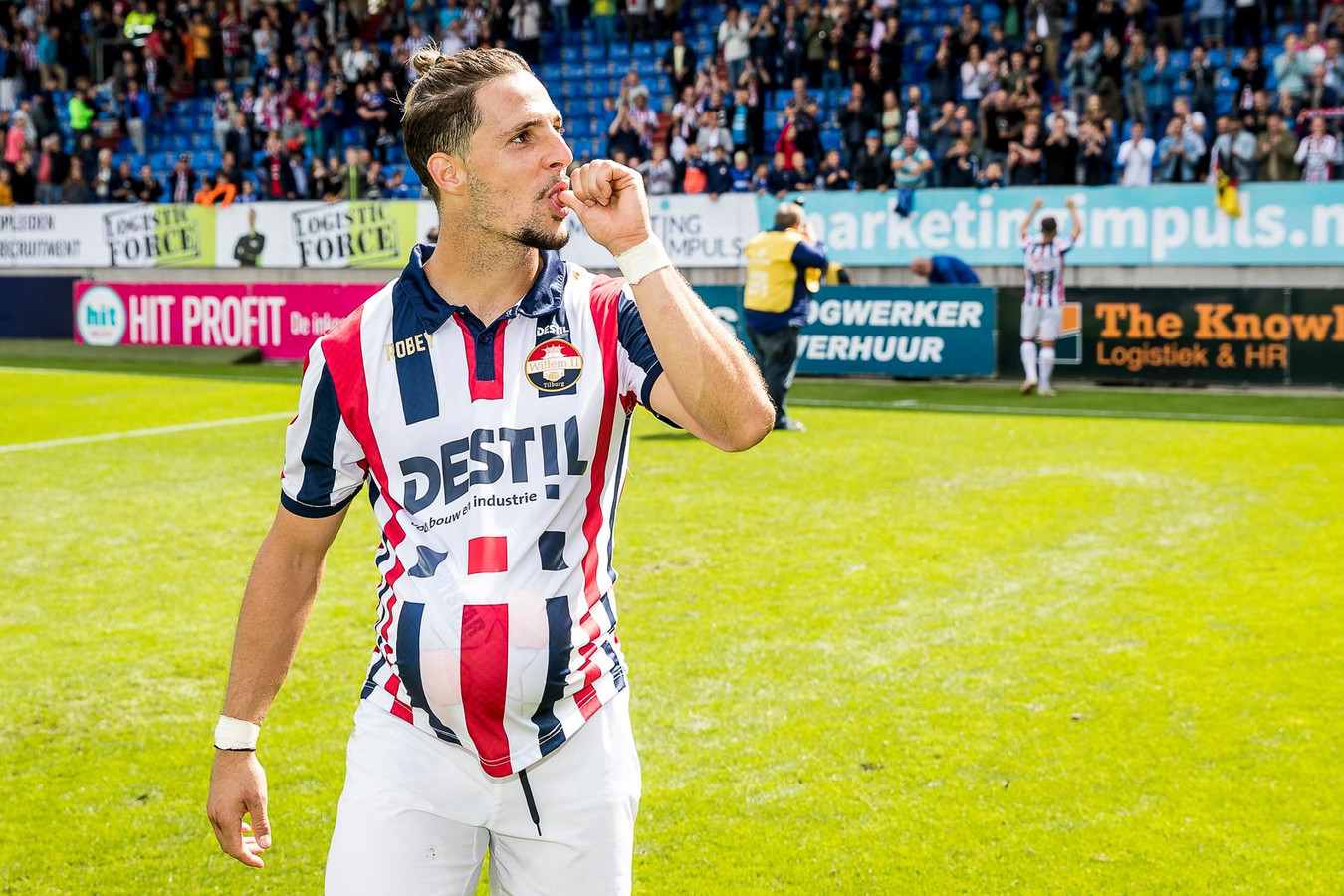 Willem II-topschutter Fran Sol.