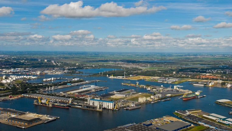 Amsterdamse haven Beeld ANP
