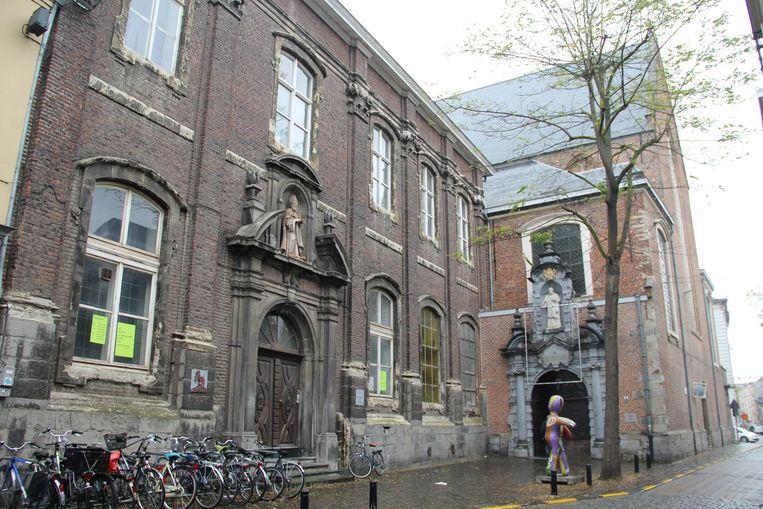 Het klooster van de Augustijnen in de Sint-Margrietstraat.