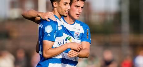 PEC Zwolle en Go Ahead Eagles bekeren op hetzelfde moment