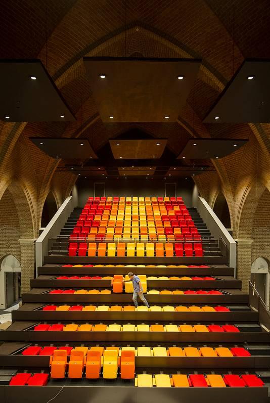 De theaterkerk in Bemmel, op 17 juni het toneel voor de jaarlijkse ondernemersprijs van Betuwe Onderneemt Beter.
