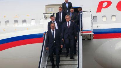 Lavrov aangekomen in Noord-Korea