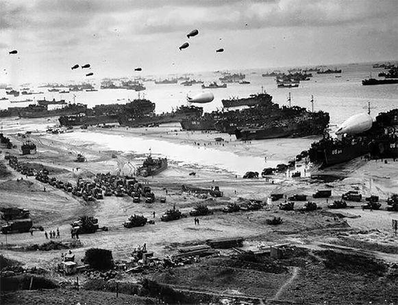 D-Day: op 6 juni 1944 landden de geallieerde op de kust van Normandië.