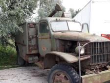 Verzamelaar verloor zeldzaam legervoertuig door Schaijkse schuurbrand: 'Het is helemaal ruk'