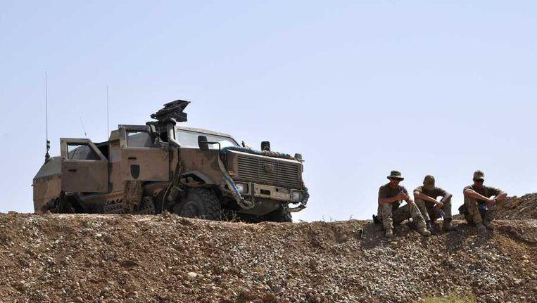 Duitse soldaten in Kunduz. Beeld reuters