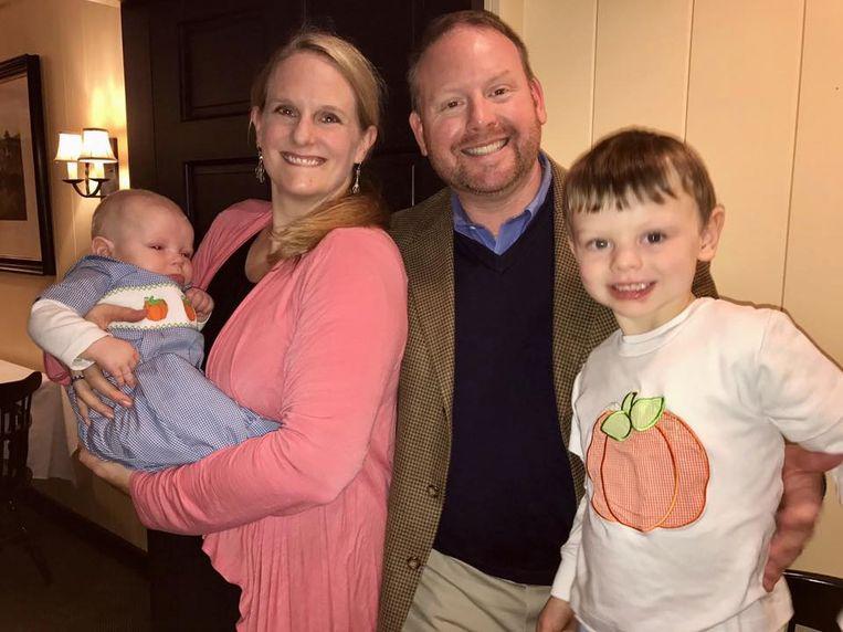Holly met haar gezin.