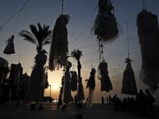 Macaber protest in Libanon tegen verkrachtingswet uit 'Stenen Tijdperk'