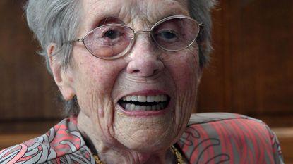 Nathalia Verheecke viert 104de verjaardag