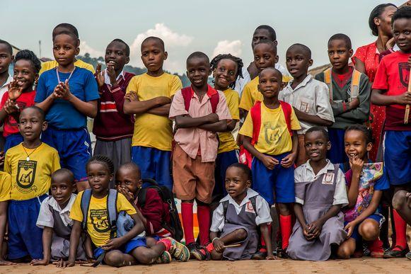Kinderen in Afrika.