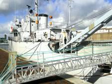 Mercuur weer doelwit van vandalen: 'Waarom klojoën op dat schip?'