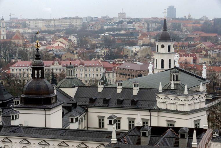 Vilnius, de hoofdstad van Litouwen Beeld REUTERS