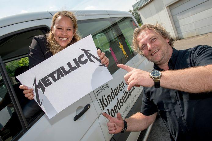 Eerder dit jaar kreeg de Stichting Kinderen van de Voedselbank al een gift van rockmetalband Metallica