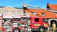 Brandweer blust schoorsteenbrand in woning aan Brouwerijstraat in Kruisem